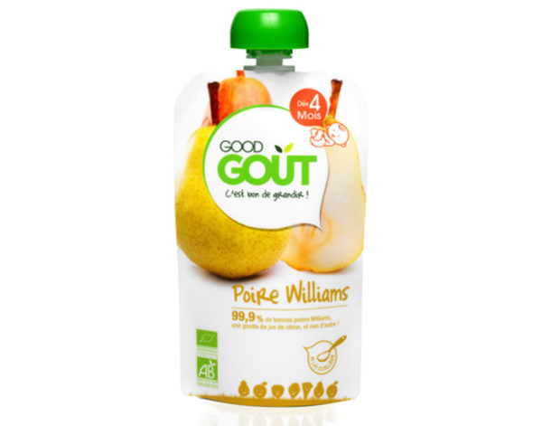 good gout poire compote puree