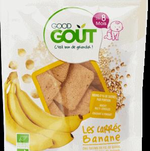 goog gout carre banane biscuit