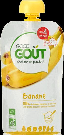 goog gout puree compote banane