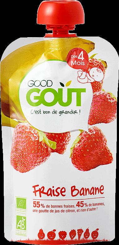good gout fraise banane