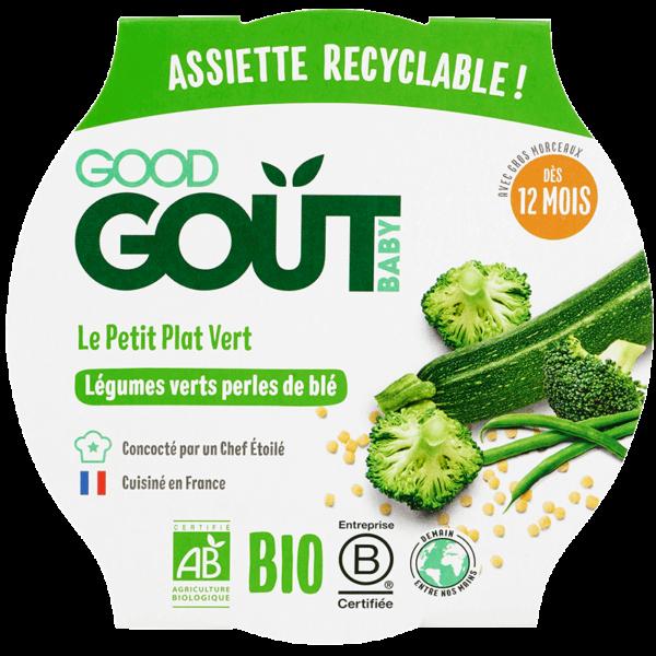 good gout légumes verts